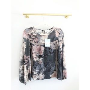 We Are Kindred | Alanah Floral Blouse Water Lily